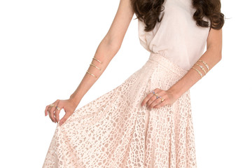 vestido mulher beleza