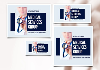 Medical Services Social Media Post Set 4