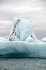Gletscherlagune, Jökulsarlon, Island