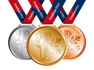 Médailles Jeux de Pyeongchang