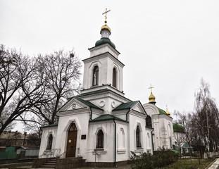 Spasskaya Orthodox Church. Poltava city , Ukraine,