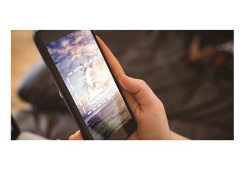 Close View Mockup of Smartphone 5