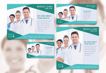 Medical Services Social Media Post Set 12