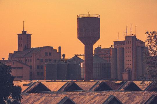 Lusaka skyline