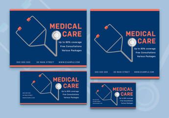 Medical Services Social Media Post Set 14