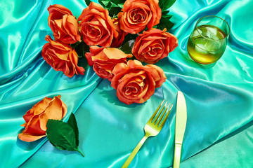 Blue Room Roses