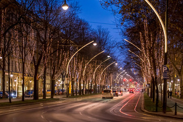 Christmas time in Vienna, Schubertring