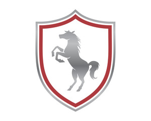 silver horses shield stallion mustang mare ranch image
