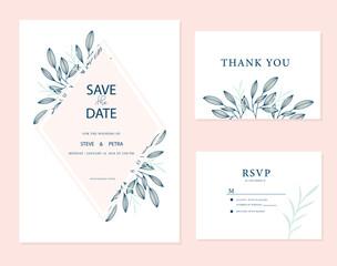 Wedding card inviation template