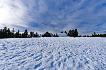 Crater Lake RIM Village at Klamath County, Oregon