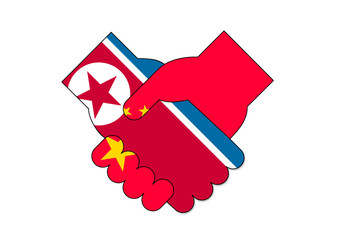 北朝鮮と中国の会談イメージ