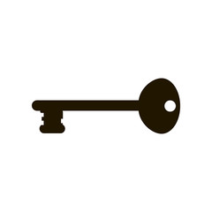 Keys icons , isolated. Closing and opening door. Sign and symbol . Locking and unlocking door vintage key pictogram, vector illustration.