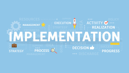 Implementation concept illustration.