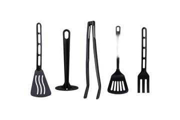 Black Plastic Kitchen Tools
