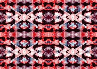 Aztec pattern. Tribal design.