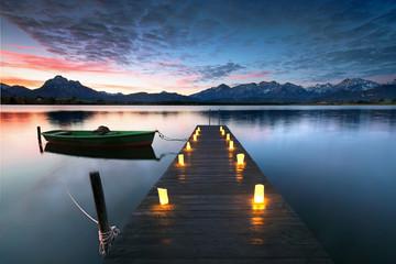 Alpen - romantischer Urlaub