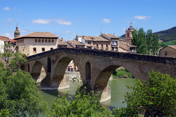 Die Brücke von Puente la Reina