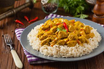 Chicken Curry Sauce.