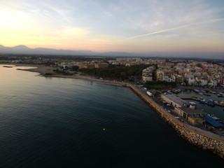 Cambrils, localidad costera de Tarragona en Cataluña,España