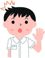 Men's Naughty student Japanese surprised.eps