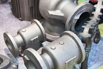 Cast iron alloy preform for taps and valves