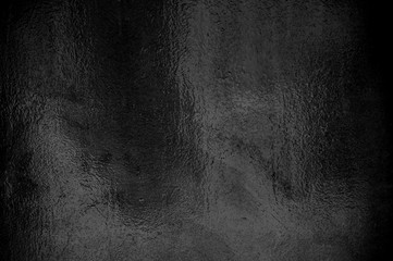 Dekorative glänzende schwarze Folie
