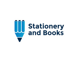 stationery and books
