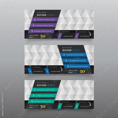 diagonal banner material design banner for website header