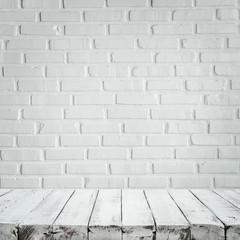 Beautiful white on white brick wall background