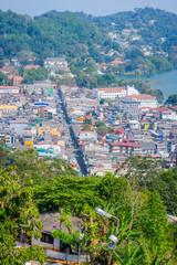 Kandy city, Sri Lanka