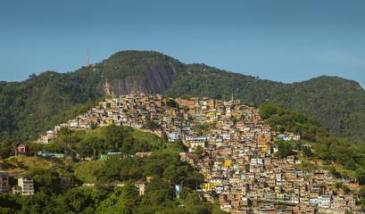 Wall Mural - Favela Morro dos Prazeres in Rio de Janeiro, Brazil