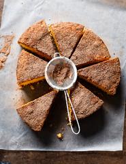 cocoa polenta cake