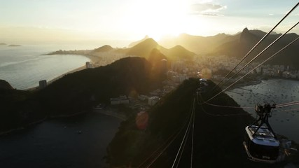Fotomurales - Rio de Janeiro from Sugarloaf mountain, Brazil