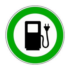 Tankstelle / Elektromobilität / E-Auto
