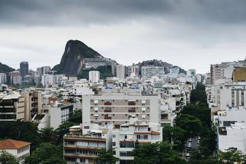 Aerial view of Ipanema district, Rio de Janeiro