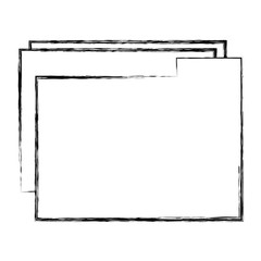 file folder documents icon vector illustration design