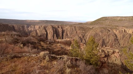 Wall Mural - Black Canyon of the Gunnison National Park is in Western Colorado,