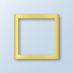 Gold design border for photos