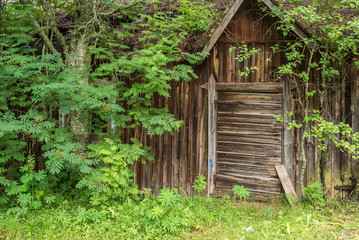 Old abandoned house in Finland