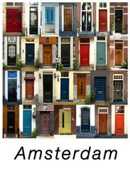 Colorful doors in London