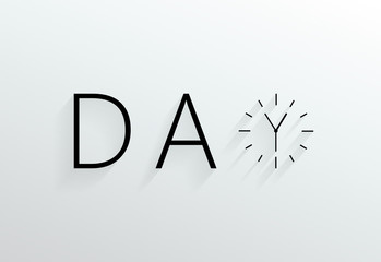 Day. Clock