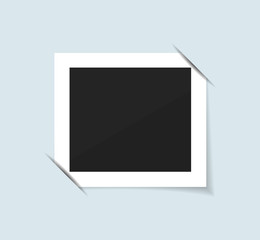 Photo frame collection realistic vector