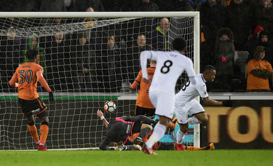 FA Cup Third Round Replay - Swansea City vs Wolverhampton Wanderers