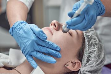 hardware cosmetic procedure in the beauty salon