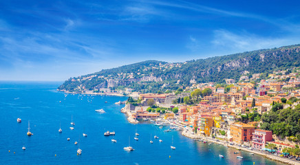 Beautiful coast of french riviera, France Wall mural