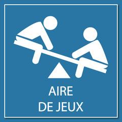 Logo aire de jeux.