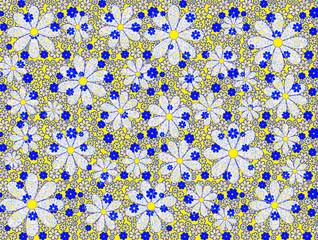 Psychedelic Boho Style Pattern