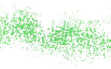 Light Blue, Green vector banner set of circles, spheres.