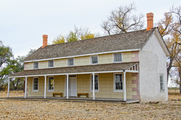 Prowers House at Boggsville on Santa Fe Trail