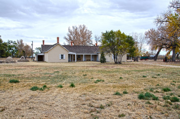 Thomas Boggs House at Boggsville on Santa Fe Trail